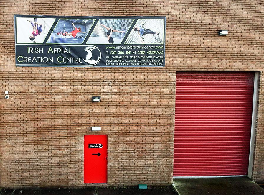 Irish Aerial Creation Centre Exterior