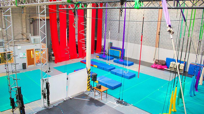 Irish Aerial Creation Centre Interior and Apparatus