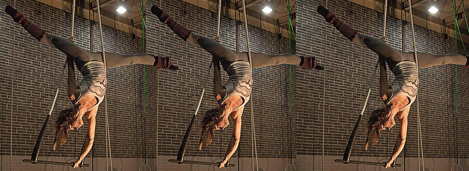 Irish Aerial Creation Centre Professional Artist on Rope